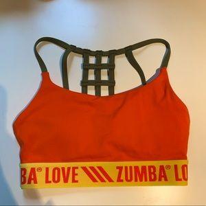 NWOT Zumba sports bra
